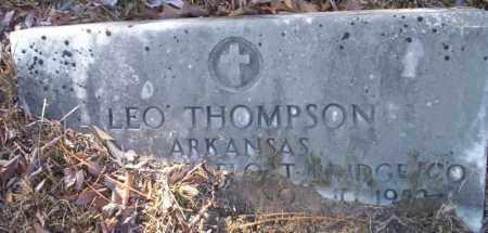 THOMPSON (VETERAN), LEO - Nevada County, Arkansas | LEO THOMPSON (VETERAN) - Arkansas Gravestone Photos