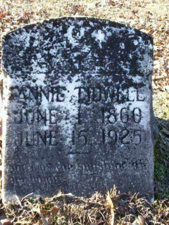 TIDWELL, FANNIE - Nevada County, Arkansas | FANNIE TIDWELL - Arkansas Gravestone Photos