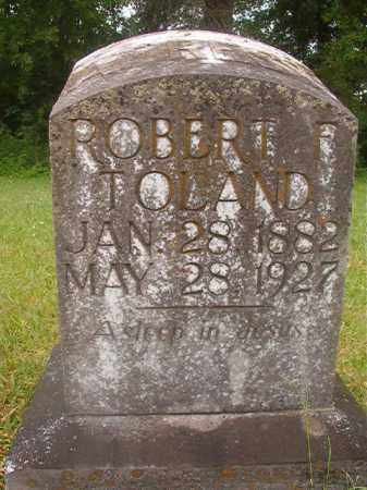 TOLAND, ROBERT F - Nevada County, Arkansas | ROBERT F TOLAND - Arkansas Gravestone Photos