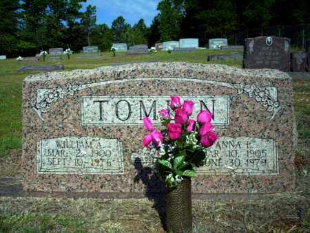 TOMLIN, WILLIAM A - Nevada County, Arkansas | WILLIAM A TOMLIN - Arkansas Gravestone Photos