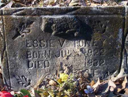 TONEY, ESSIE V - Nevada County, Arkansas | ESSIE V TONEY - Arkansas Gravestone Photos