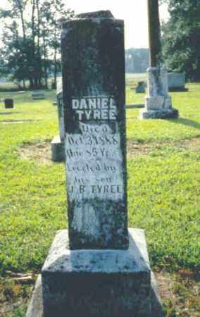 TYREE, DANIEL - Nevada County, Arkansas   DANIEL TYREE - Arkansas Gravestone Photos