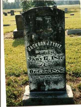 TYREE, JACKSON J. - Nevada County, Arkansas | JACKSON J. TYREE - Arkansas Gravestone Photos