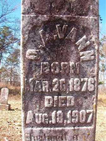 VANN, O A - Nevada County, Arkansas | O A VANN - Arkansas Gravestone Photos
