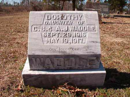 WADDLE, DOROTHY - Nevada County, Arkansas | DOROTHY WADDLE - Arkansas Gravestone Photos