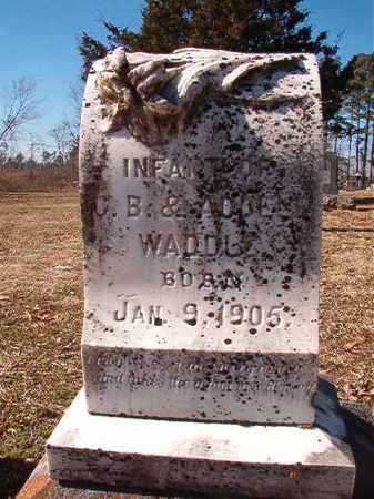 WADDLE, INFANT - Nevada County, Arkansas | INFANT WADDLE - Arkansas Gravestone Photos