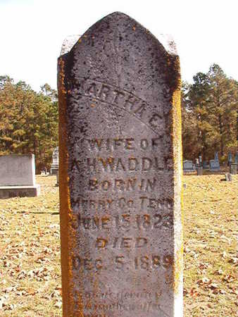 WADDLE, MARTHA ELIZABETH (DEATH NOTICE) - Nevada County, Arkansas | MARTHA ELIZABETH (DEATH NOTICE) WADDLE - Arkansas Gravestone Photos