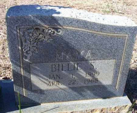 WALKER, BILLIE S.  CLOSE UP - Nevada County, Arkansas | BILLIE S.  CLOSE UP WALKER - Arkansas Gravestone Photos