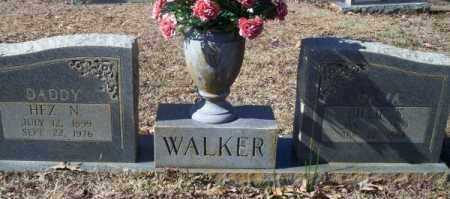 WALKER, HEZ N. - Nevada County, Arkansas | HEZ N. WALKER - Arkansas Gravestone Photos