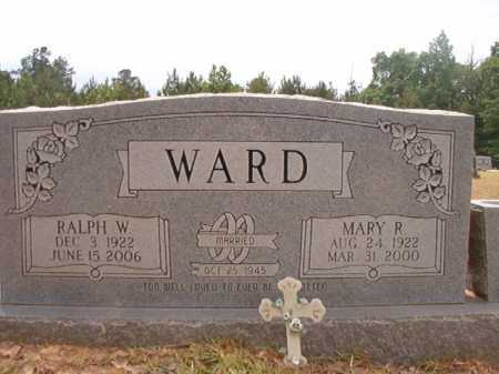 WARD, MARY R - Nevada County, Arkansas | MARY R WARD - Arkansas Gravestone Photos