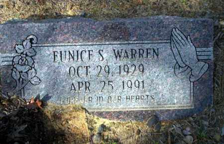 WARREN, EUNICE S - Nevada County, Arkansas | EUNICE S WARREN - Arkansas Gravestone Photos