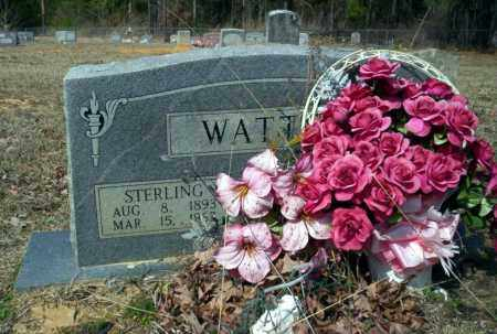WATTS, STERLING - Nevada County, Arkansas | STERLING WATTS - Arkansas Gravestone Photos