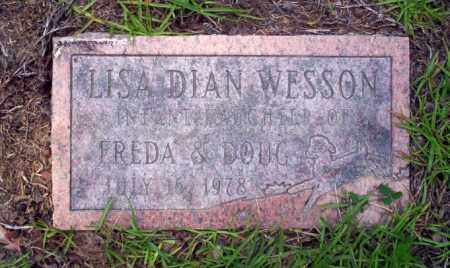 WESSON, LISA DIAN - Nevada County, Arkansas | LISA DIAN WESSON - Arkansas Gravestone Photos