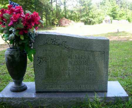 WESSON, WILBURN - Nevada County, Arkansas | WILBURN WESSON - Arkansas Gravestone Photos