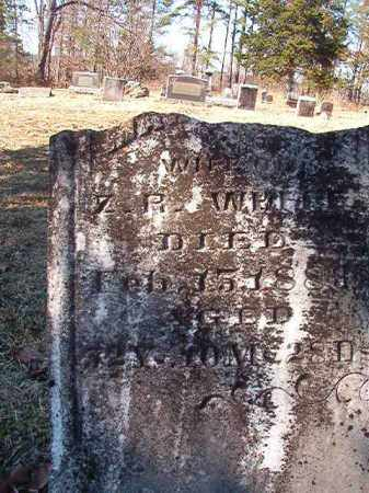 WHITE, MARGARET - Nevada County, Arkansas | MARGARET WHITE - Arkansas Gravestone Photos