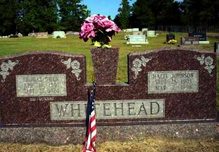 JOHNSON WHITEHEAD, HAZEL - Nevada County, Arkansas | HAZEL JOHNSON WHITEHEAD - Arkansas Gravestone Photos