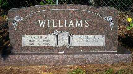 WILLIAMS, RALPH W - Nevada County, Arkansas | RALPH W WILLIAMS - Arkansas Gravestone Photos