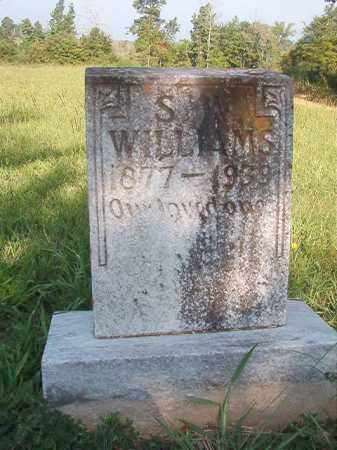 WILLIAMS, S W - Nevada County, Arkansas | S W WILLIAMS - Arkansas Gravestone Photos