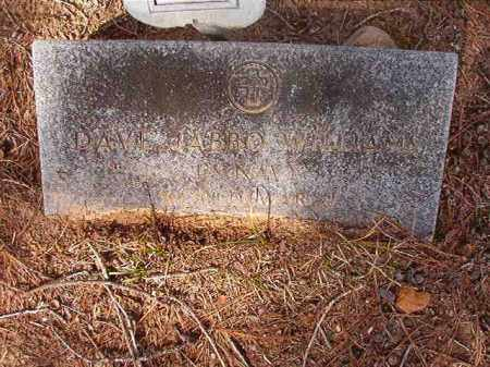 WILLIAMS (VETERAN WWII), DAVE JABBO - Nevada County, Arkansas | DAVE JABBO WILLIAMS (VETERAN WWII) - Arkansas Gravestone Photos
