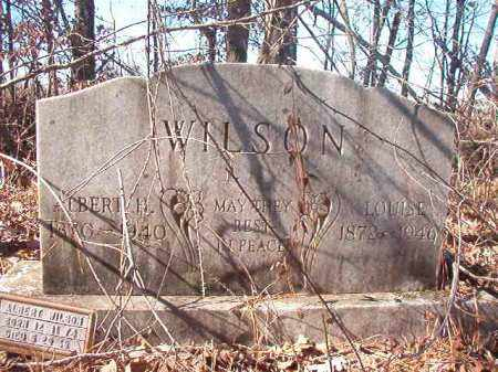 WILSON, LOUISE - Nevada County, Arkansas | LOUISE WILSON - Arkansas Gravestone Photos