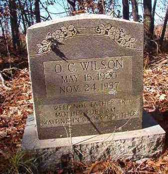 WILSON, O C - Nevada County, Arkansas | O C WILSON - Arkansas Gravestone Photos