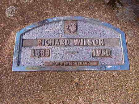 WILSON, RICHARD - Nevada County, Arkansas | RICHARD WILSON - Arkansas Gravestone Photos