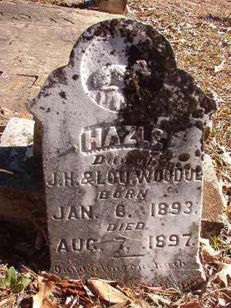 WOODUL, HAZLE - Nevada County, Arkansas | HAZLE WOODUL - Arkansas Gravestone Photos