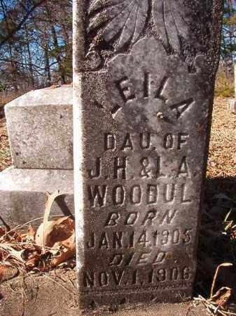 WOODUL, LEILA - Nevada County, Arkansas | LEILA WOODUL - Arkansas Gravestone Photos