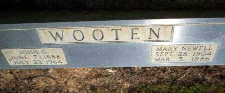 WOOTEN, JOHN G - Nevada County, Arkansas | JOHN G WOOTEN - Arkansas Gravestone Photos