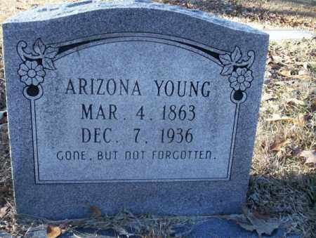 YOUNG, ARIZONA - Nevada County, Arkansas | ARIZONA YOUNG - Arkansas Gravestone Photos