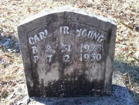 YOUNG, CARL JR - Nevada County, Arkansas | CARL JR YOUNG - Arkansas Gravestone Photos