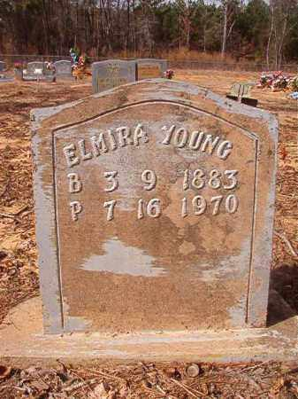 YOUNG, ELMIRA - Nevada County, Arkansas | ELMIRA YOUNG - Arkansas Gravestone Photos