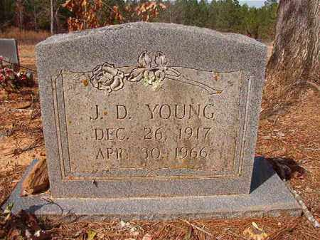 YOUNG, J D - Nevada County, Arkansas | J D YOUNG - Arkansas Gravestone Photos