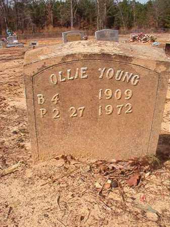 YOUNG, OLLIE - Nevada County, Arkansas | OLLIE YOUNG - Arkansas Gravestone Photos