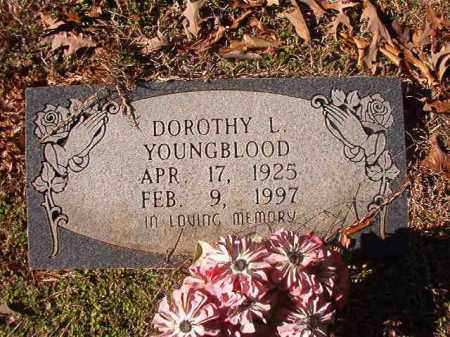 YOUNGBLOOD, DOROTHY L - Nevada County, Arkansas | DOROTHY L YOUNGBLOOD - Arkansas Gravestone Photos