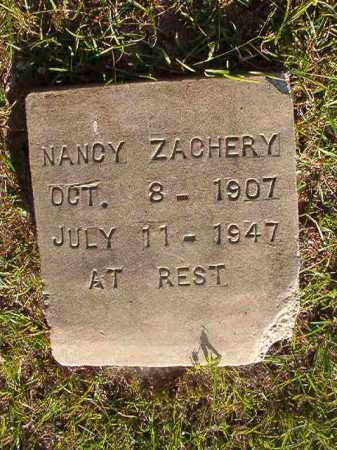 ZACHERY, NANCY - Nevada County, Arkansas | NANCY ZACHERY - Arkansas Gravestone Photos