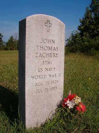 ZACHERY (VETERAN WWII), JOHN THOMAS - Nevada County, Arkansas | JOHN THOMAS ZACHERY (VETERAN WWII) - Arkansas Gravestone Photos