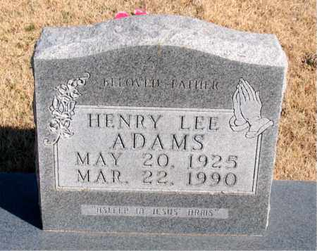 ADAMS, HENRY LEE - Newton County, Arkansas | HENRY LEE ADAMS - Arkansas Gravestone Photos
