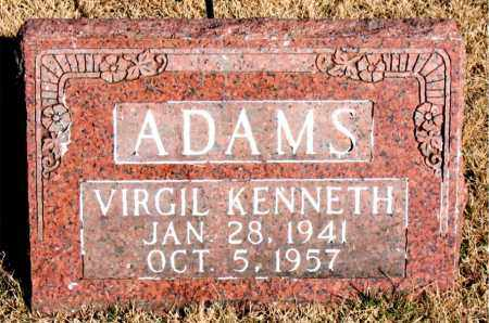 ADAMS, VIRGIL KENNETH - Newton County, Arkansas | VIRGIL KENNETH ADAMS - Arkansas Gravestone Photos