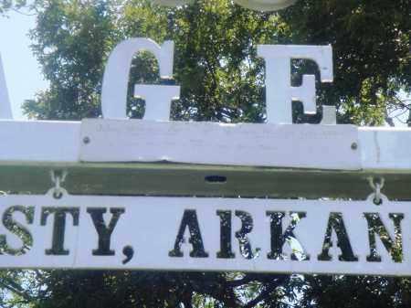 *AGEE CEMETERY PLAQUE,  - Newton County, Arkansas |  *AGEE CEMETERY PLAQUE - Arkansas Gravestone Photos