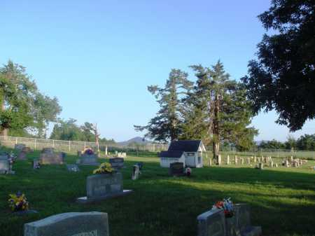 *AGEE CEMETERY VIEW,  - Newton County, Arkansas |  *AGEE CEMETERY VIEW - Arkansas Gravestone Photos