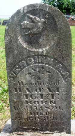 AGEE, VERGINNIA A - Newton County, Arkansas | VERGINNIA A AGEE - Arkansas Gravestone Photos