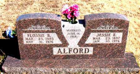 ALFORD, JESSIE E. - Newton County, Arkansas | JESSIE E. ALFORD - Arkansas Gravestone Photos