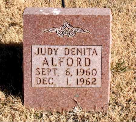 ALFORD, JUDY DENITA - Newton County, Arkansas | JUDY DENITA ALFORD - Arkansas Gravestone Photos