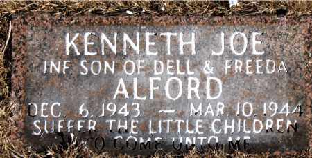 ALFORD, KENNETH JOE - Newton County, Arkansas | KENNETH JOE ALFORD - Arkansas Gravestone Photos