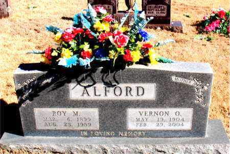 ALFORD, ROY M. - Newton County, Arkansas | ROY M. ALFORD - Arkansas Gravestone Photos