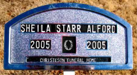 ALFORD, SHELIA - Newton County, Arkansas | SHELIA ALFORD - Arkansas Gravestone Photos