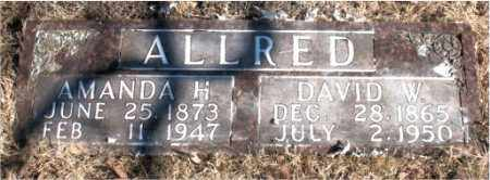 ALLRED, DAVID D. - Newton County, Arkansas | DAVID D. ALLRED - Arkansas Gravestone Photos