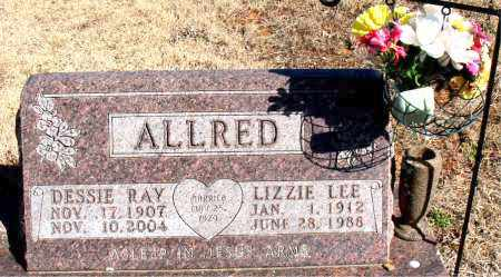ALLRED, LIZZIE LEE - Newton County, Arkansas | LIZZIE LEE ALLRED - Arkansas Gravestone Photos