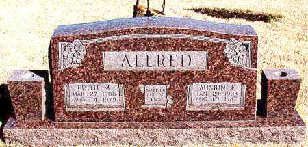 ALLRED, AUSBIN F. - Newton County, Arkansas | AUSBIN F. ALLRED - Arkansas Gravestone Photos